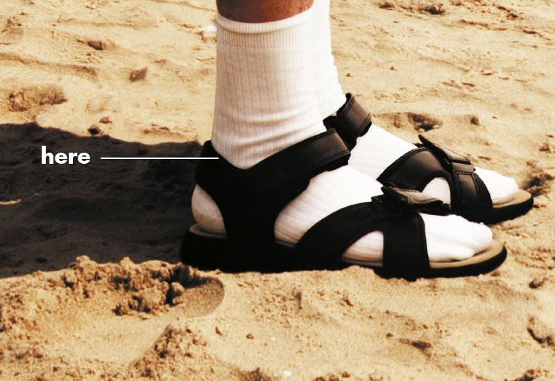 Diclomax sandals