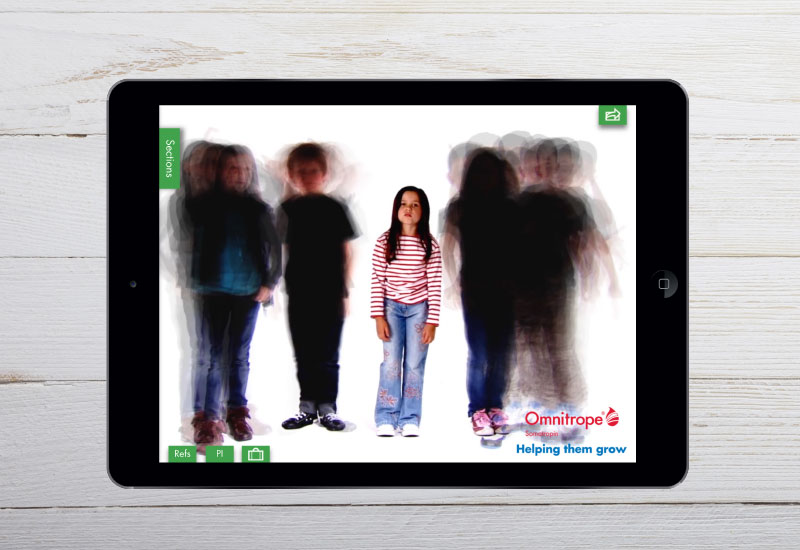 Omnitrope iPad app 1